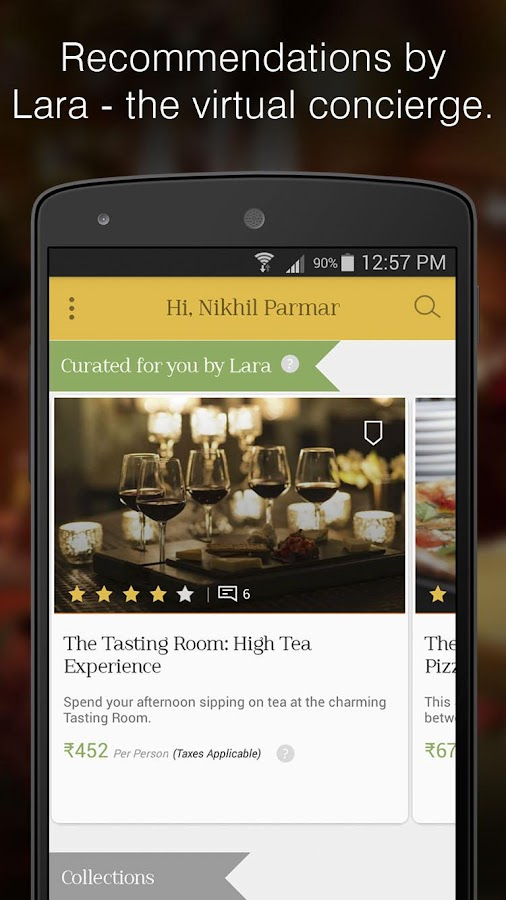 WowTables: Gourmet Restaurants- screenshot