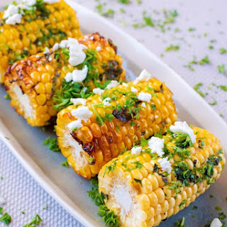 Grilled Corn with Herb Butter Recipe