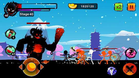 Stickman Ghost Ninja Warrior Action Game Offline 2.0 Mod Apk [DINHEIRO INFINITO] 6