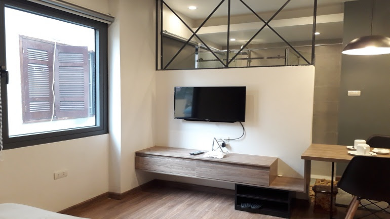 Brand – new studio apartment in Trung Hoa area, Cau Giay district for rent