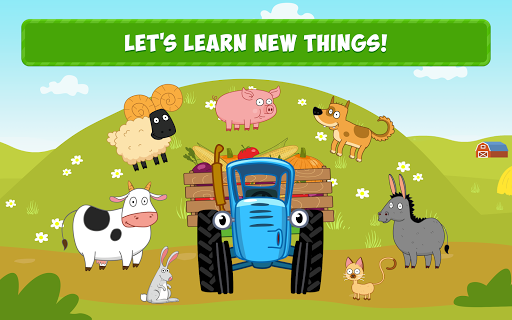 Blue Tractor: Learning Games for Toddlers Age 2, 3 1.0 screenshots 6