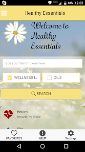 Healthy Essentials Oil Recipes- screenshot thumbnail