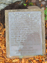 Photo: Difficult to read but it commemorates the first Japanese Military vessel visiting San Francisco, 1860