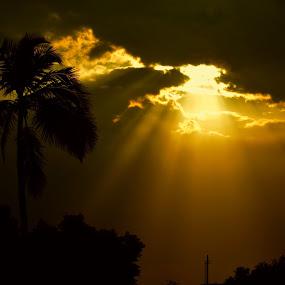 by Babu Raj - Landscapes Sunsets & Sunrises