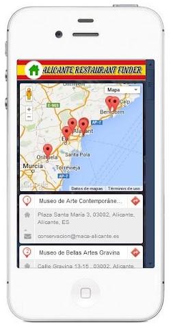 Screenshot 2 Alicante Restaurants and Bars