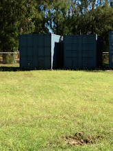Photo: The bin is ready to store the equipment and materials for our PE classes.