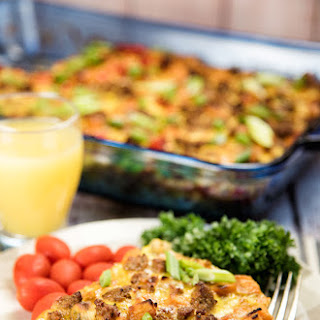 Breakfast Casserole with Sausages Recipe
