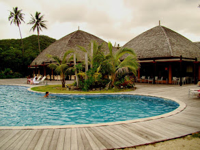 Photo: #005-Tieti Tera Beach Resort de Poindimié. La piscine