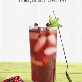 Pomegranate Iced Tea.