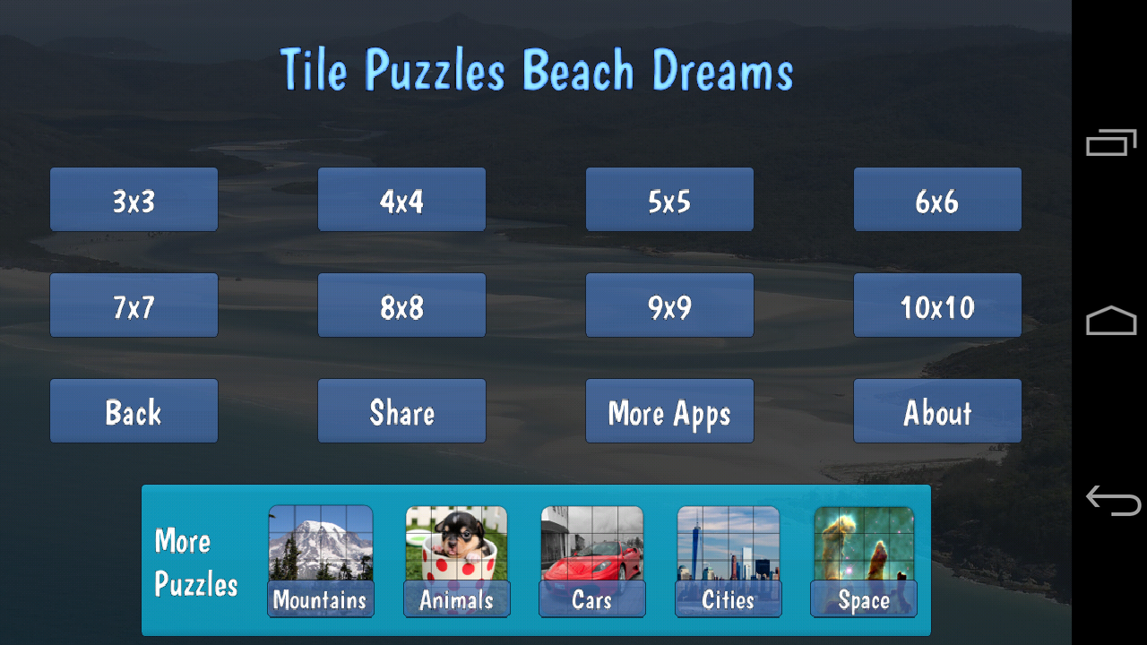 Tile Puzzles · Beach Dreams- screenshot