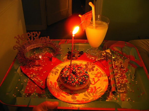 "Theme related ""Birthday Breakfast in Bed"", special holiday or ""Anniversary"", special surprise event that..."