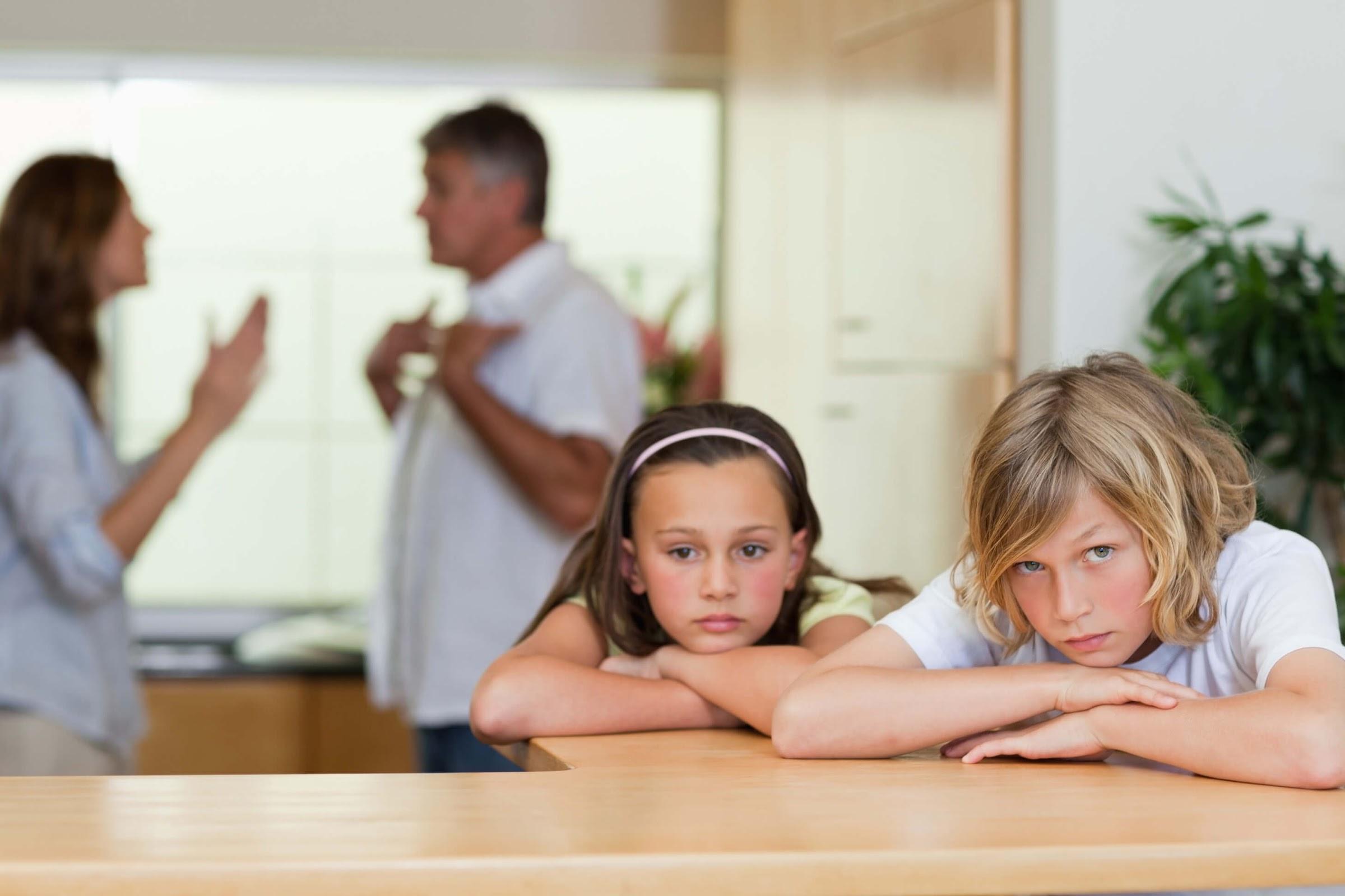 Children's Reactions to Divorce