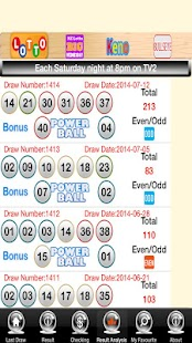 Lotto PowerBall BigsWednesday- screenshot thumbnail
