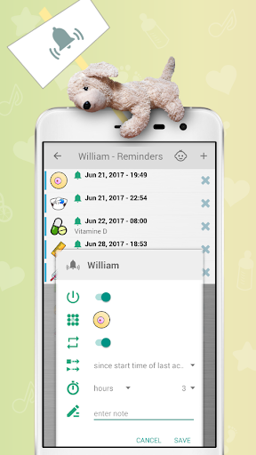 Baby Care Tracker - Breastfeeding Screenshot