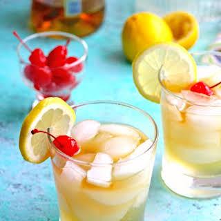 Jade Bar Whiskey Sour Cocktail.