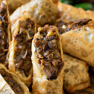 Cheesesteak Egg Rolls