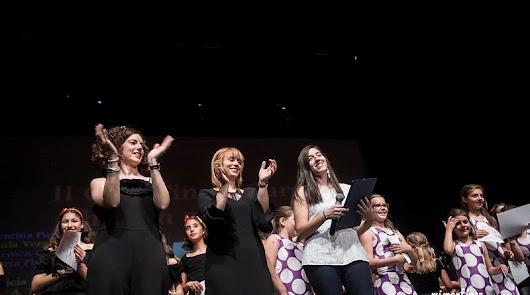 María Eugenia Ruíz, Beatriz Vargas y Míriam Megías, monitoras de la Academia.