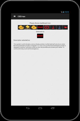 OBD2 scanner & fault codes description: OBDmax  screenshots 12