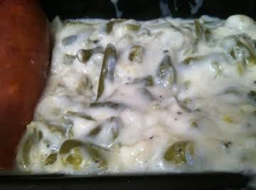 Mom's Creamed Green Beans