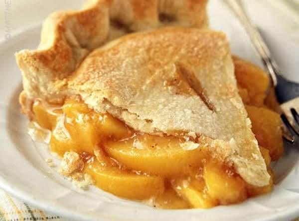 Lisa's Homemade Georgia Peach Pie Recipe