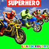 Superheroes Downhill Race