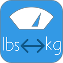 lbs kg converter icon