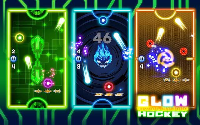 Glow Hockey 2 Evolution
