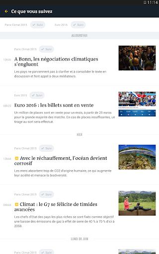 Le Monde, l'info en continu screenshot 18
