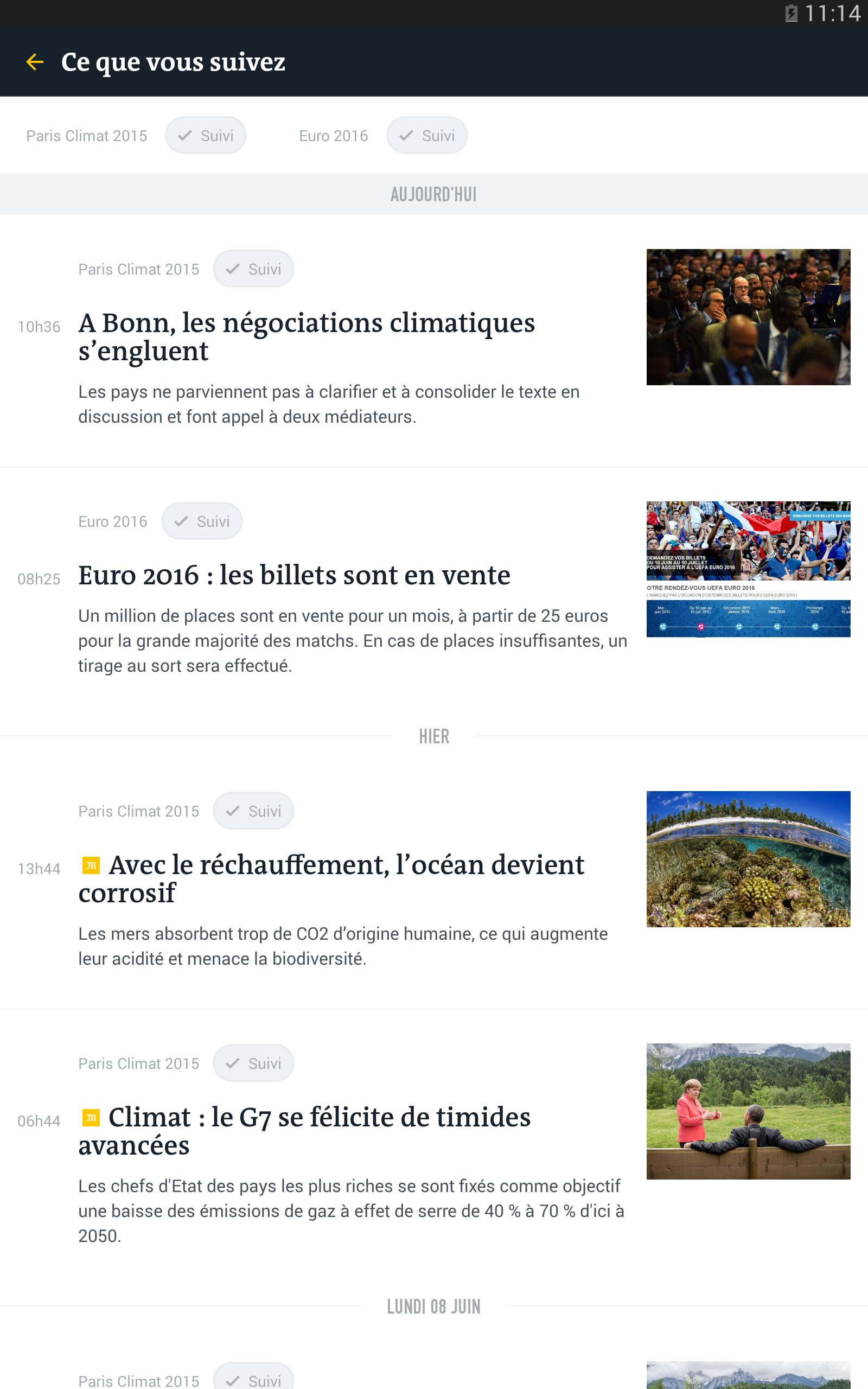 Le Monde, l'info en continu screenshot #19