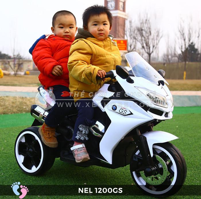 Moto điện 3 bánh cho bé NEL-1200GS 3