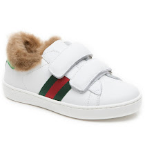 Gucci Faux Fur Kid Trainer TRAINER