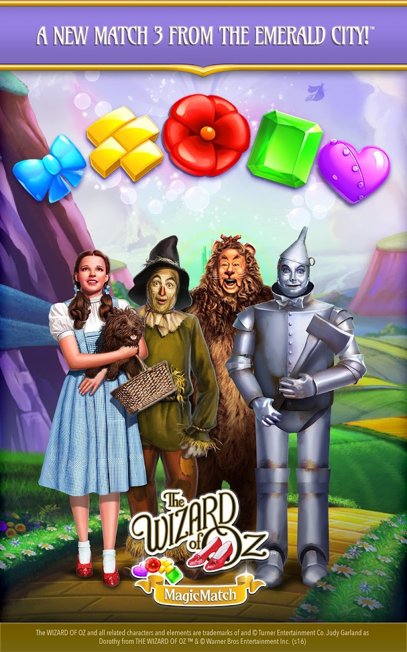 The Wizard of Oz Magic Match 3 Screenshot 5