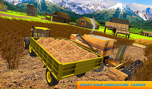 Snow Tractor Agriculture Simulator screenshot 9