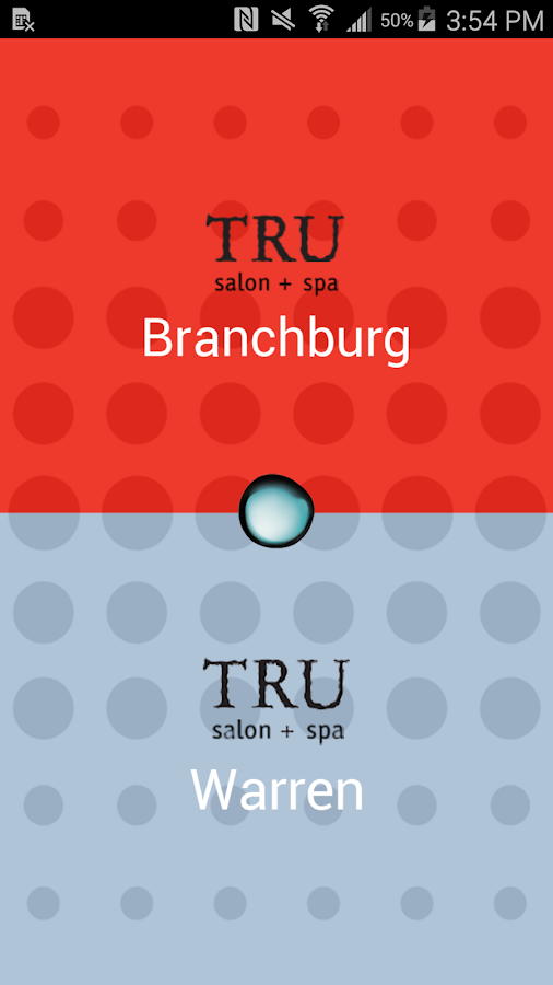 TRU salon + spa- screenshot