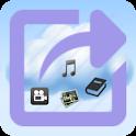 eXportitWeb filesharing & blog icon