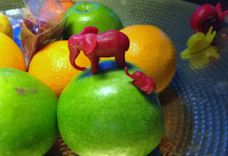 Photo: The best of all the Cheese wax art- Elephants!