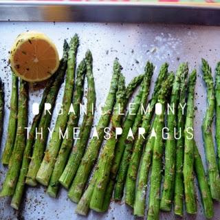Organic Lemony Thyme Asparagus