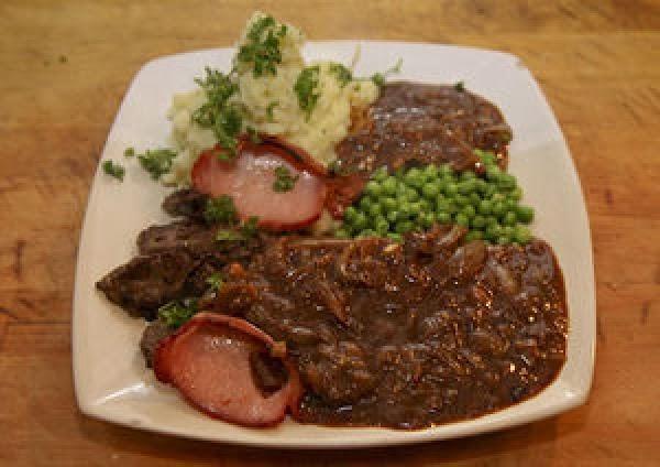 Liver & Onions With Gravy Recipe