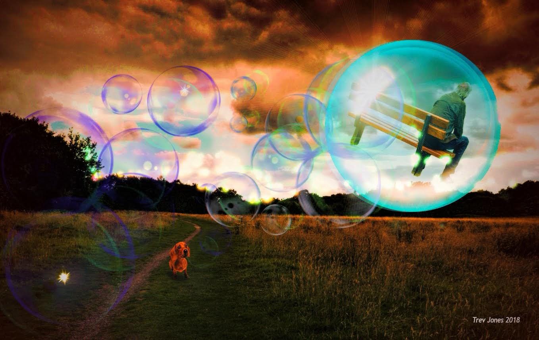 Float Away In A Bubble