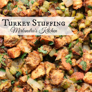 Turkey Stuffing (Otherwise Known as Dressing).