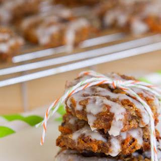 Quinoa Carrot Cake Breakfast Cookies.
