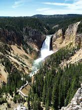 Photo: Canyon de Yellowstone - parc national de Yellowstone - États-Unis