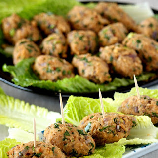 Mercimek Koftesi – Turkish Red Lentil and Bulgur Kofte – Vegan Kofte.