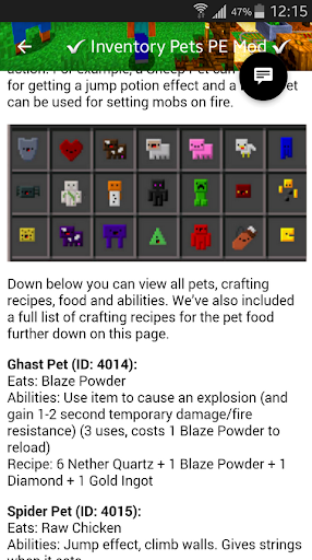 how to download inventory pets mod