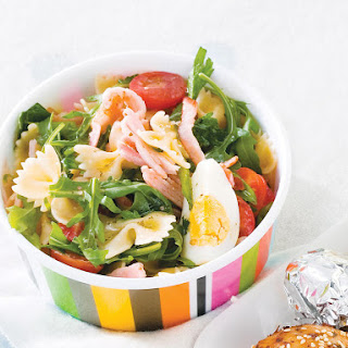 Egg and Bacon Pasta Salad.