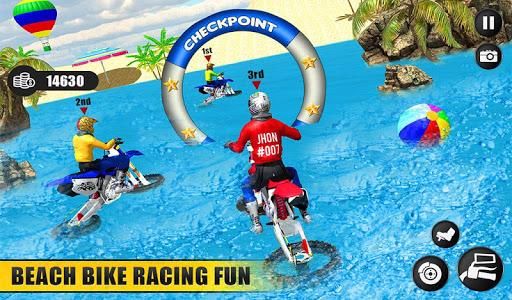 Beach Water Surfer Dirt Bike: Xtreme Racing Games apkdebit screenshots 14