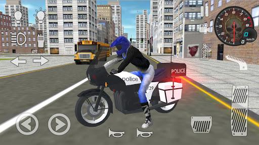 Real Police Motorbike Simulator 2020 1.4 screenshots 1