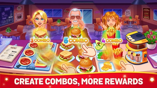 Cooking Dream MOD (Free Shopping) 2