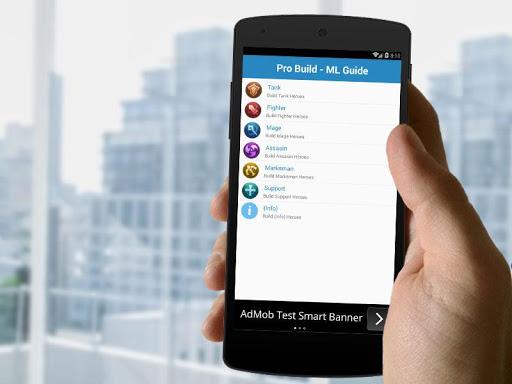 Pro Build: Mobile Legends - Guide 2.1 screenshots 5