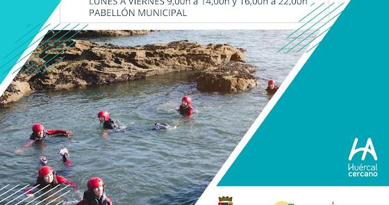 Fin de semana de 'coasteering' en el Cañarete